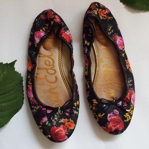 Sam Edelman Floral Print Flats